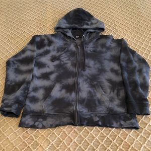 Vans Tie Dye Zip Up Sweater/Hoodie